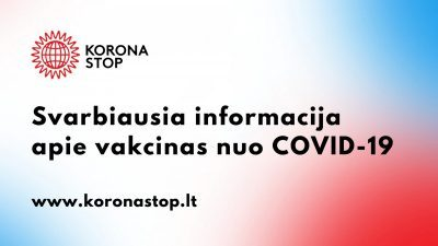 COVID-19 informacija